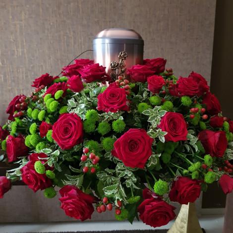 Žarni venček rdeče vrtnice