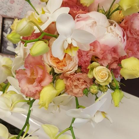Poročni šopek z Orhidejami