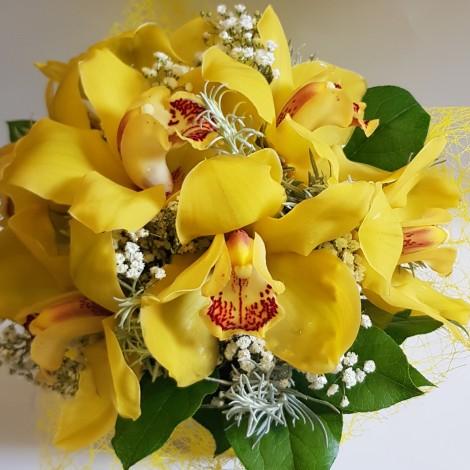 Šopek z orhidejami