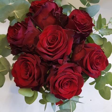 Šopek rdeče vrtnice 2