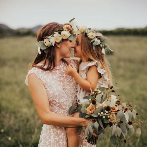 Poročni šopek in venčki