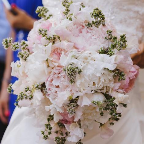 Poročni šopek romantika