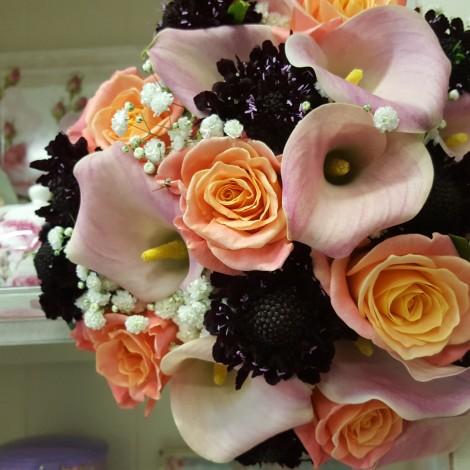 Poročni šopek kala - grintavec