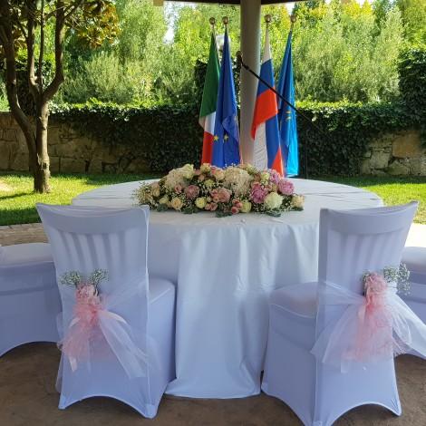 Aranžma za poročni obred