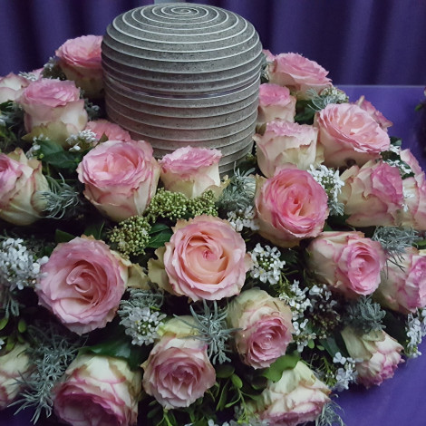 Nežno roza cvetje
