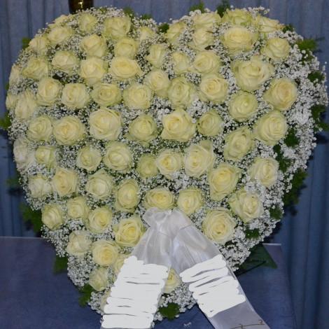 Veliko srce vrtnic